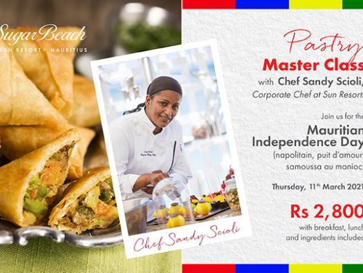 Pastry Master Class - Mauritian Independence Day Edition
